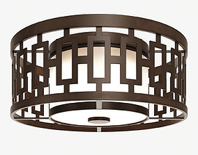 Fine Art Lamps River Oaks 838682ST 3D model