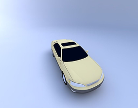 Lexus ES 300 97 with texture 3D model