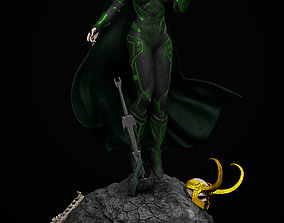 3D printable model other Hela - Thor Ragnarok