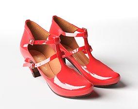 Penny Neon High Heel 3D