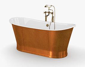 3D CP Hart Porcelanosa Greenwich Boat Bath