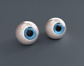 Pack Human Eyes 3D asset