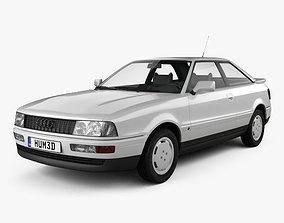 Audi Coupe 8B 1988 3D model