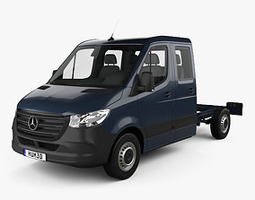 Mercedes-Benz Sprinter W907 Crew Cab Chassis L2 3D model