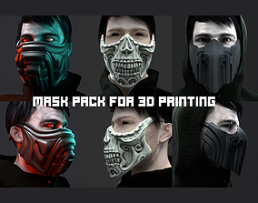 3 type of Mask cover masks 3D printable model