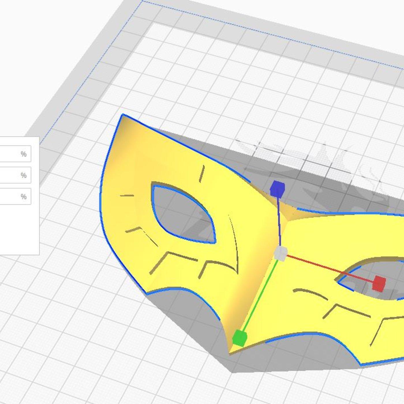 Joker Mask Persona 5 - Wearable -