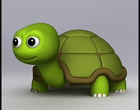 first-model-may 3D model Cartoon Turtle