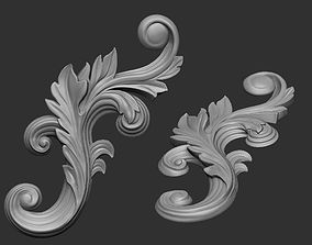 Floral ornament 1 3D printable model
