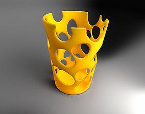 Pencil holder 3D printable model decor