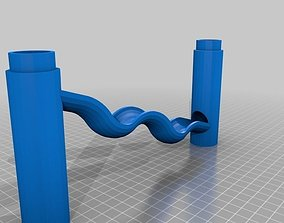 Marble Run Two Dips 3D printable model
