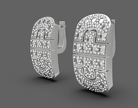 Some good replica earrings 3D printable model