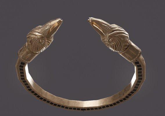 Golden Eagle Bracelet