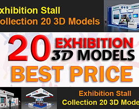 20 3d Models of Exhibition Stall