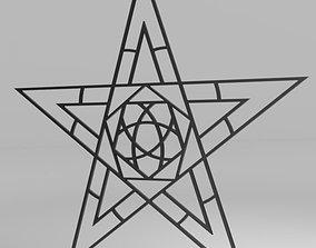 3D asset Full Sized Bondage Pentagram 220cm x 210cm