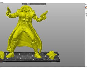 Spider-Man Noire with 2 Heads 3D print model