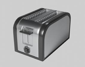3D asset 2-Slice Toaster