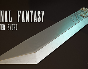 3D model Final Fantasy - Buster Sword