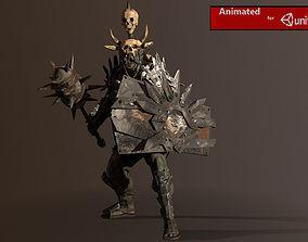 Fat orc 2 3D asset
