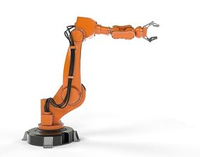 3D Industrial Robot Arm housework