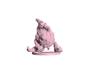 3D printable model Dragon fruit Monk