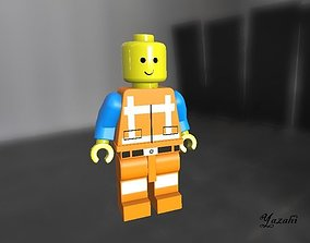 Lego Model 3D based on the Movie Lego The Movie realtime