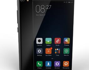 mobile phone Xiaomi mi5 3D model