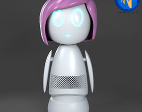 3D print model Ashley too doll from Black Mirror Series