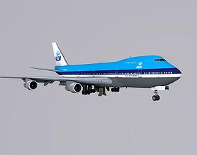 Boeing 747 KLM 3D model