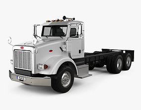 Peterbilt 357 Day Cab Chassis Truck 2006 3D