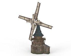 3D model Old WindMill
