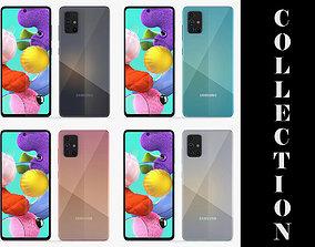 Samsung Galaxy A51 All Colors 3D model