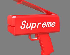 Supreme money gun 3D