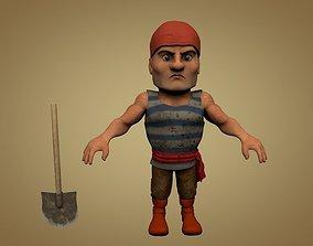 Sailor or Pirate 3D model