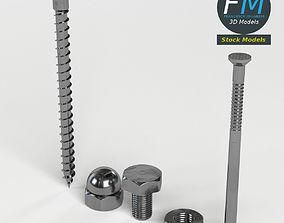 3D model Hardware parts