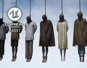 3D asset Hanged