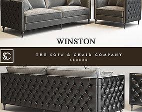 Winston sofa 3D print model
