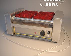 3D Roller grill rg5