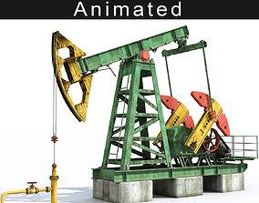 Oil pump 3D animated