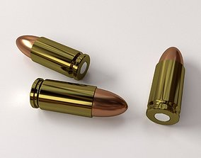 3D model Ammunition 9mm Parabellum
