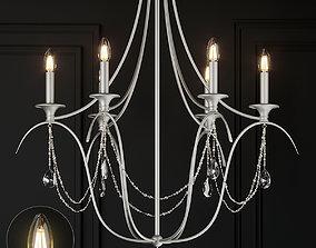 3D model Ballard Designs Alexandra Crystal 6-Light