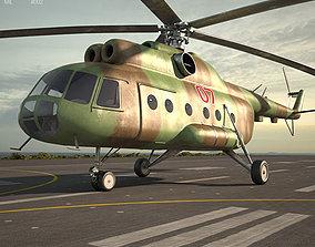 3D Mil Mi-8 3d