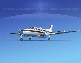 Beechcraft B99 Talladega 3D