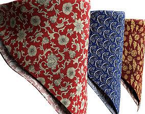 bandanas patterns 3D