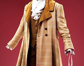 3D model Charles Dickens Costume