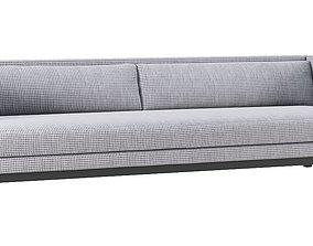 CB2 Brava Houndstooth Sofa 3D model