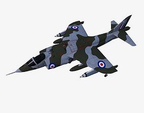 Harrier GR1 3D model