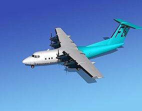 3D Dehavilland DHC-7 Freeman Charter