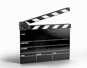3D Clapperboard various