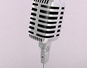 3D print model microphone gadgets