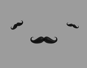 3D model Mustache